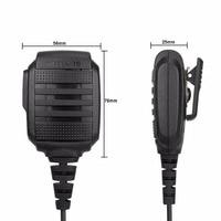 עבור baofeng RS-114 RETEVIS IP54 רמקול מיקרופון עמיד למים עבור Kenwood RETEVIS H777 RT5R RT22 RT81 Baofeng UV-5R UV-82 888S מכשיר הקשר (4)