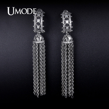 UMODE 2016 New Fashion Jewelry Crystal Dangle Earrings For Women Jewelry Fashion Boucle D'Orei Christmas Gift Bijouterie AUE0238