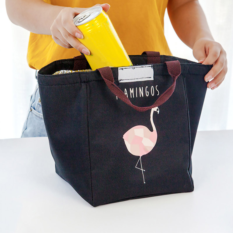 Sale Picnic Men Lunch Bag Storage Bags Picnic 4Colors Waterproof Thermal Students Oxford Kids Insulation High Quality Cartoon