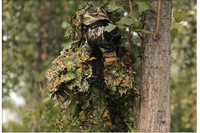3D Camouflage Clothes Hunting Ghillie Suit set Sniper Tactical Camo Yowie Jacket and Pants for outdoor sports