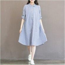 Maternity Clothes T shirt Dress For Pregnant Women Dress Long Sleeve Striped Dress For Pregnancy women