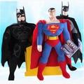 """1 unid 8 """" 25 cm juguete de la venta caliente spiderman, batman, superman, alta calidad, de peluche de juguete, para niños navidad regalo de la historieta figura muñeca"""
