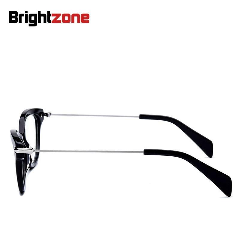 Gozluk leopard Einstellbare Brillen Optik Rahmen brillen Grad Prallplatte Brillengestell Black Gläser Brightzone Mode Katze FPqwn6xR