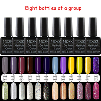 MDSKL 10ml Long Lasting Nail Gel Polish Soak Off Gel Colorful Series UV Gel Polishes Nair Art Pick Any 8 In 132 Colors