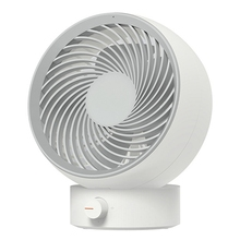 Usb Rechargeable Adjustable Wind Mini Air Circulation Desktop Powerful Round Mute Office Fan Portable 220v double head electric fan air circulation fan 3 gear energy serve strong wind circulate warm or cold wind portable fan