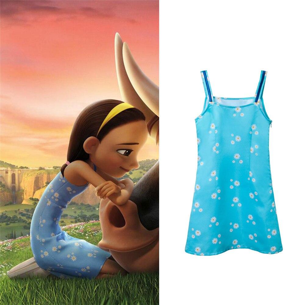 Takerlama Ferdinand Cosplay Nina Dress Kids Girls Flower