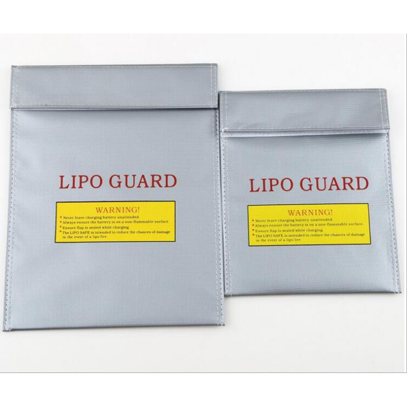 2pcs ZDF Fireproof RC LiPo Battery Safety Bag Safe Guard Charge Sack 180 X 230mm New Sale