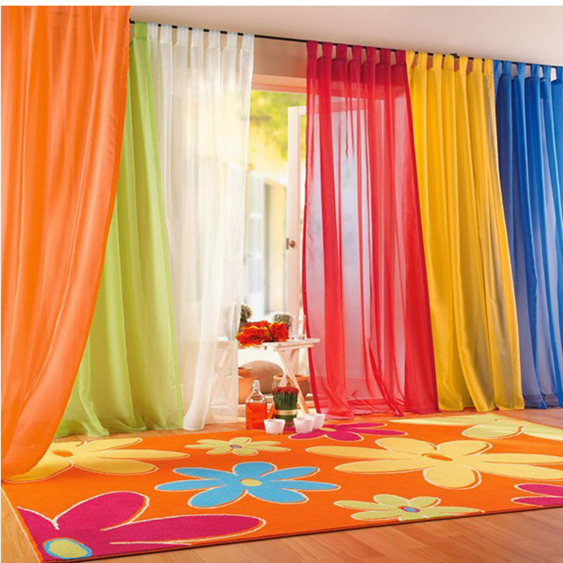 Solid Color Window Curtains For Living Bedroom Curtains Window Home