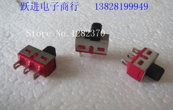 [SA] Taiwan's imports of genuine dailywell Deli Wei Q15 production slide switch 3 feet 2 files toggle switch  --100pcs/lot