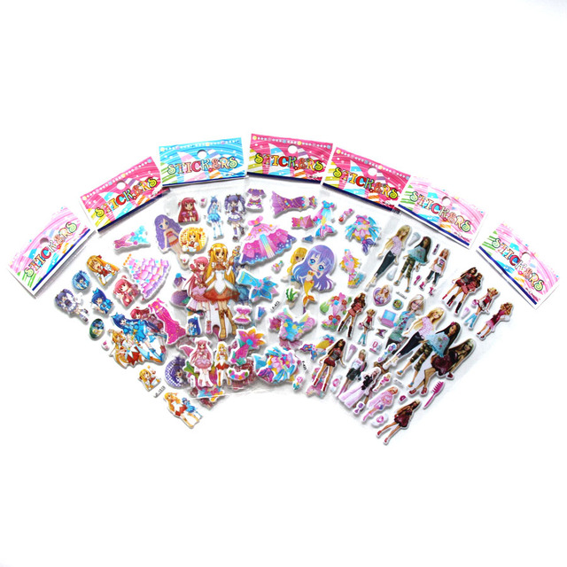 Stickers Mixed Cartoon Waterpoof