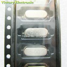 10PCS/Lot SMD Crystal Oscillator Crystal Resonator 8MHz 8M 8.000MHz 8.000M 49S HC-49S smd Passive Crystal