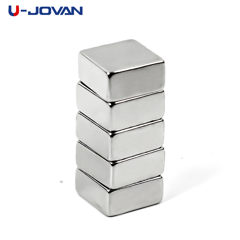 5pcs 10 X 10 X 5mm N35 Mini Block Magnets Rare Earth Super Strong Permanet Neodymium Magnet 10*10*5mm For Craft Art