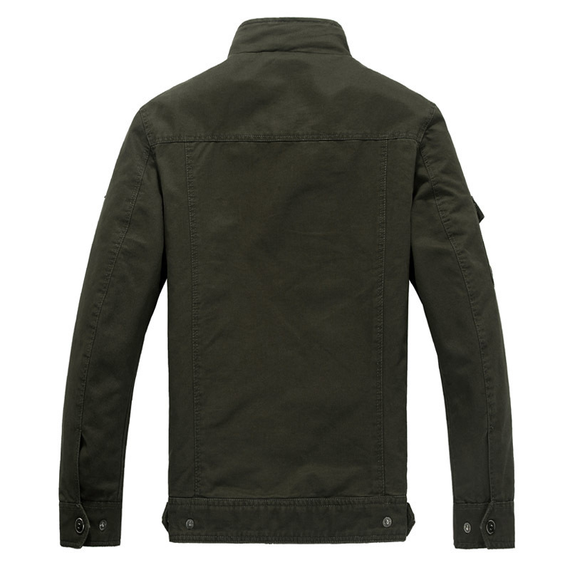 Blousons beige Automne 6xl Style Marque black Militaire Veste Taille Ma Green 2019 D'aviateur Mens Armée Slothing Hommes Vestes Grande Coton M Homme Soldat 1 qFZwgnS