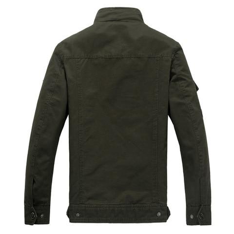 Cotton Military Jacket Men 2019 Autumn Soldier  MA-1 Style Army Jackets Male Brand Slothing Mens Bomber Jackets Plus Size M-6XL Karachi