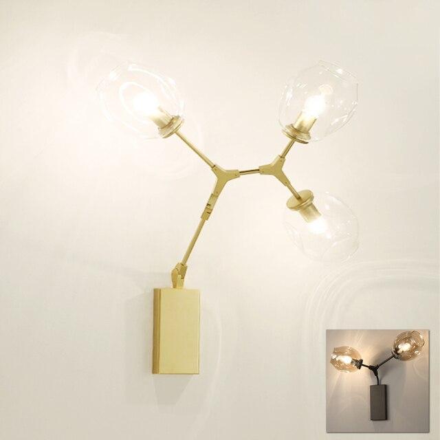 Lindsey adelman moderne wall light lampe or Am ricain Europ enne arbre LED post moderne mur.jpg 640x640 5 Superbe Lampe or Kdj5