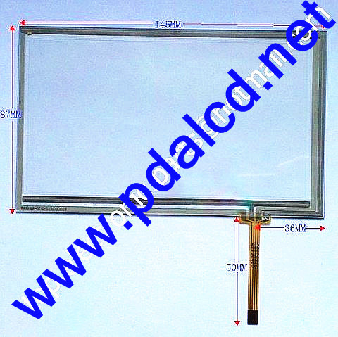 6 inch digitizer touch screen for TM060RDH01 touch panel glass free shipping