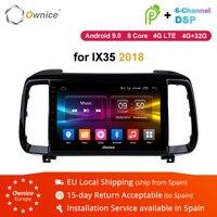 Ownice K1 K2 K3 K5 K6 Android 8.1 vehicle Radio Automotive Stereo Car dvd GPS for Hyundai IX35 2018 Double din Car Video Player