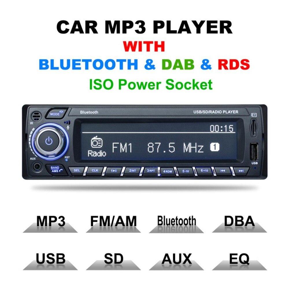 Pays européen DAB/DAB + lecteur de musique stéréo Automobile Navigation Bluetooth mains libres appelant voiture lecteur MP3 Radio FM