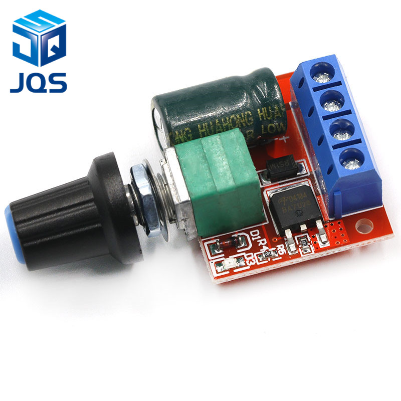 4.5-35V 90W PWM DC Motor Speed Controller Control Regulator Module 5A Switch Function LED Dimmer Board 20KHz