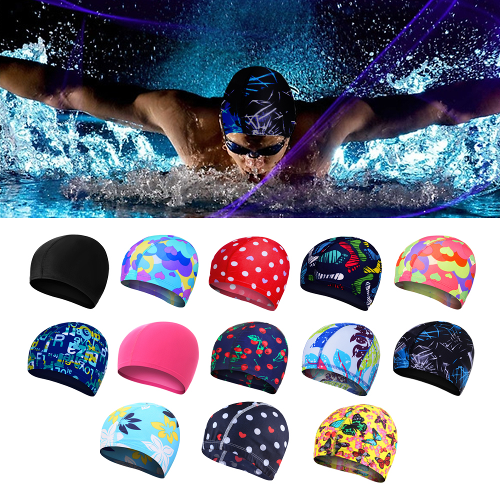Hat Swimming-Accessories Swim-Caps Protect Silicone-Rubber Waterproof Adult Women Ears