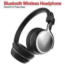 лучшая цена Active Noise Cancelling Wireless Bluetooth Headphones Bluetooth Headset with Super HiFi Deep Bass Stereo Headset with Mic
