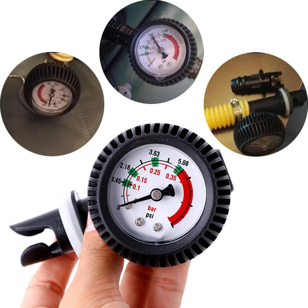 UK/_ Accurate Inflatable Boat Kayak Surfing Board Air Pressure Gauge Test Meter B