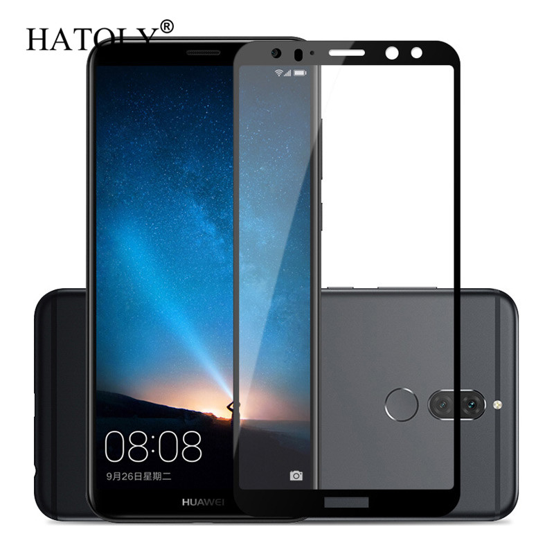 Screen Protector Huawei Mate 10 Lite Glass Tempered Glass For Huawei Mate 10 Lite Glass Huawei Nova 2i / Honor 9i Full Coverage}