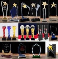 Customized Crystal Trophy Cup Creative Encourage Souvenir