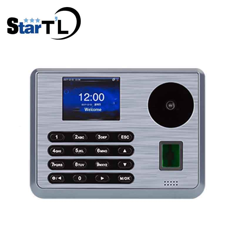 Palm Recognition Time Attendance ZK TX628-P Biometric Fingerprint Employee Attendance Time Card Machine