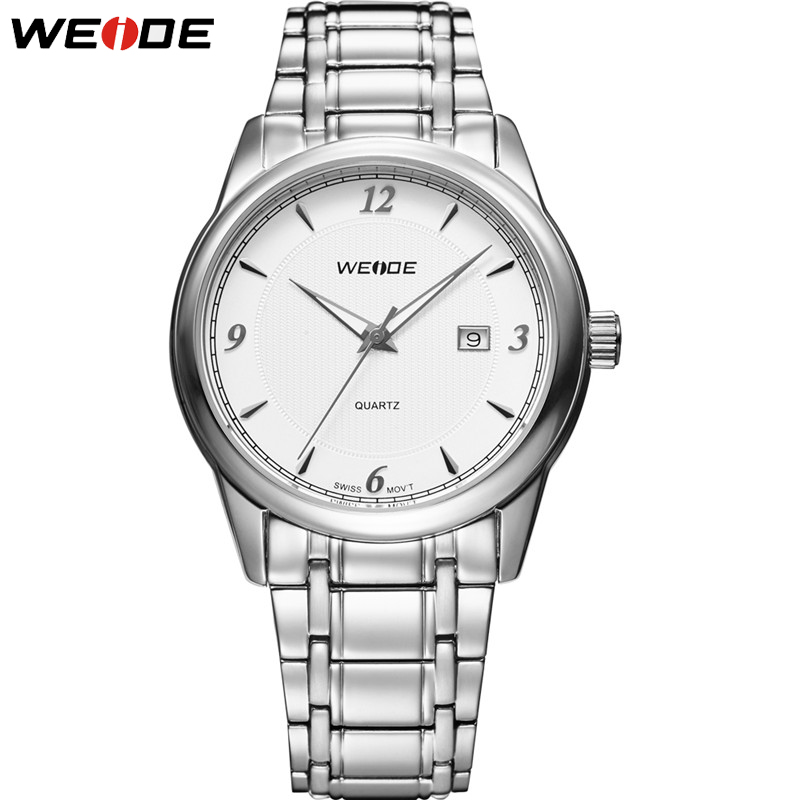 WEIDE Luxury Limit Style Men Watch The Last One Complete Calendar Classical Design Dress Watch Man Stainless Steel Band GW93011 the last american man