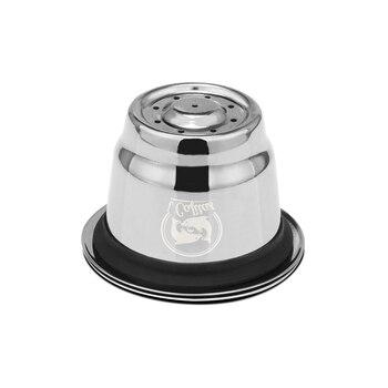 Capsule Nespresso Reutilisable Inox 2 en 1 Usage Nespresso rechargeable Capsule Crema expresso r utilisable rechargeable