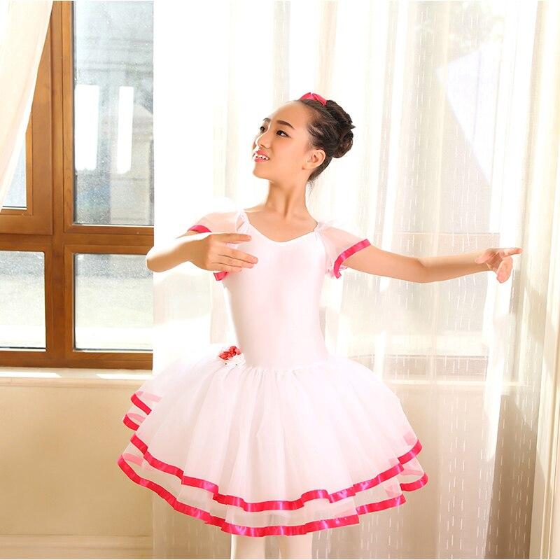 Dance Favourite white Romantic ballet tutu girl stage performance dance costume ballerina tutu women dance costume tutu
