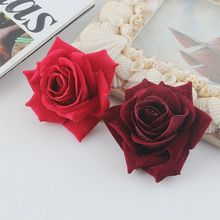 Highgrade Cloth Flower Hair Accessories  Bride Rose Floral Clips DIY Headdress Women's 'Brooch Wedding Flores Hairpin
