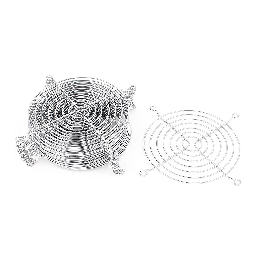 Metal Wire Finger Guard Grill 15 Pcs For 120mm Computer Pc
