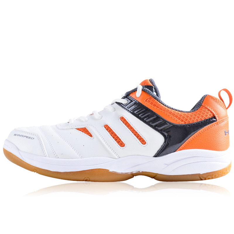 HEAD Badminton Shoes For Men PU Lace Up Sport Sneaker Professional Breathable Badminton Shoes Table Tennis Shoes Plus Size 39-44 pgm men golf shoes breathable athletic sneaker plus size 39 46 mesh sport shoes pu waterproof professional golf shoes for men
