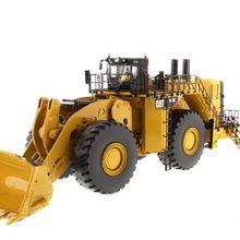 Литая игрушка модель DM 1:50 гусеница Cat 994K колесный погрузчик с рок ведро Инженерная техника 85505 для подарка, украшения
