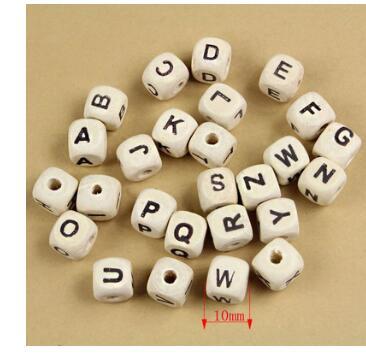 Art und Weise lose diy Quadrat Englisch / Russisch Alphabet Mix - Modeschmuck - Foto 2