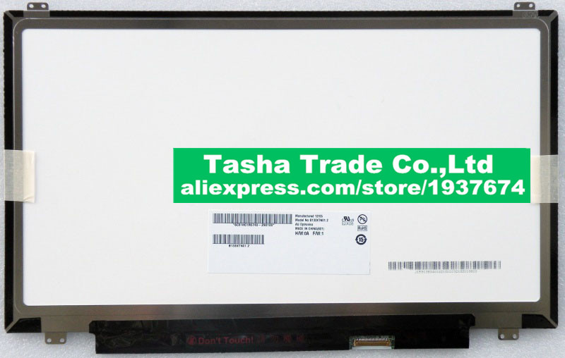 B133XTN01.2 LCD Laptop LED Display Screen 1366*768 Up Screw Holes Original New NO DEAD PIXELS Perfect Screen