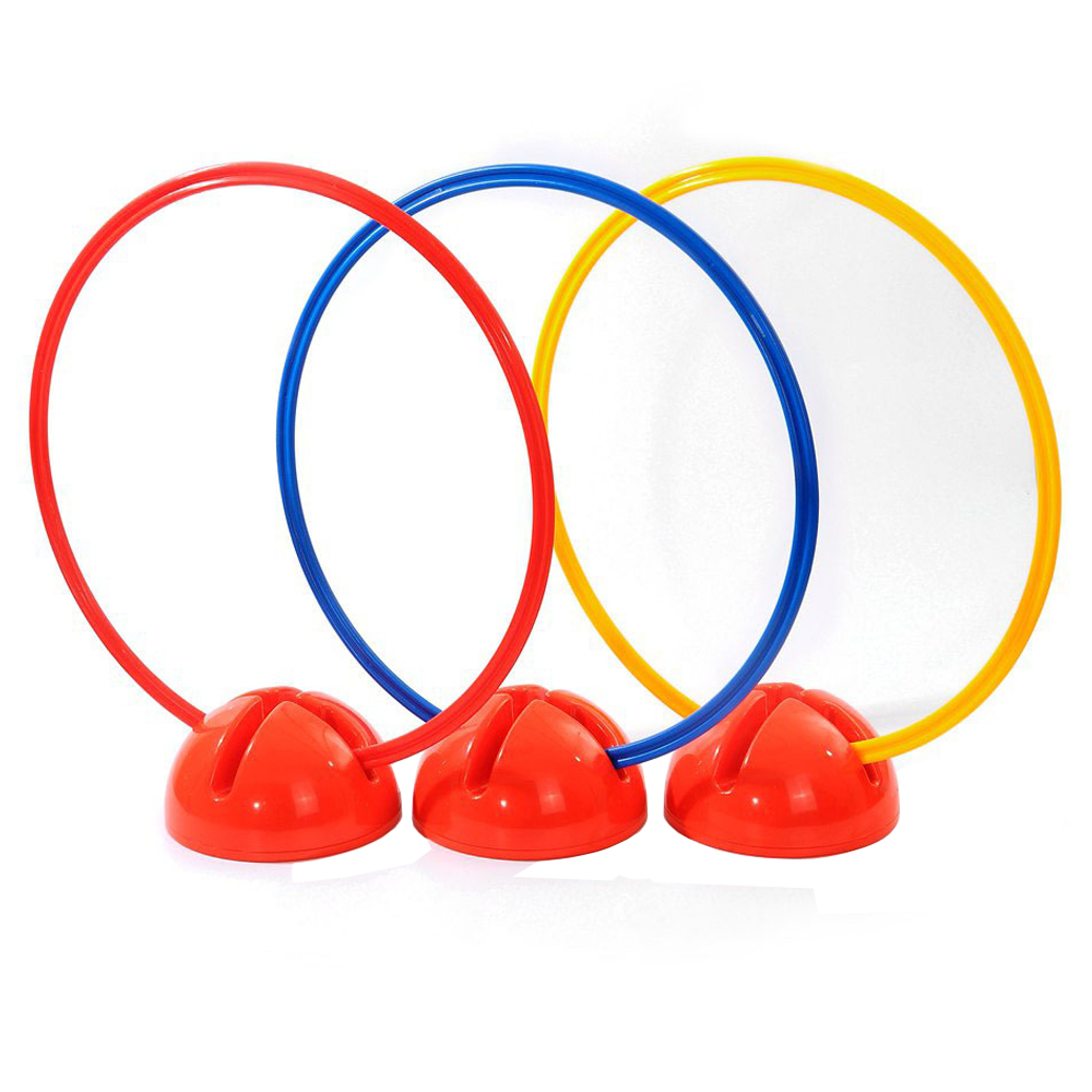 High Quality Multi-function Agility Slalom Soccer Training Mark Ring Water Base Football Round Bases Football Pole Support Base