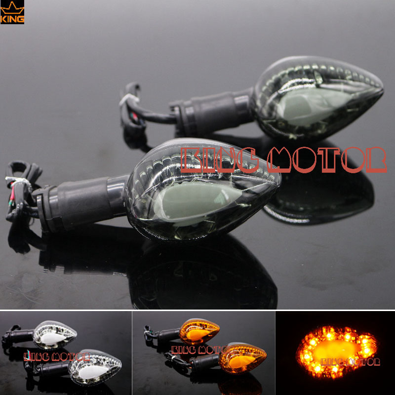 Hot Sale Motorcycle Accessoires Integrated LED Turn signal Blinker Smoke For YAMAHA FJ-09 MT-09 Tracer 2015-2016