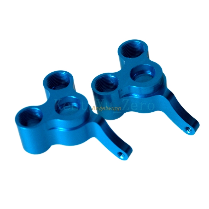 Rear Upright(L/R) 06044/06067B Upgrade Parts 166012 Blue For 1/10 RC Car HSP Redcat Himoto