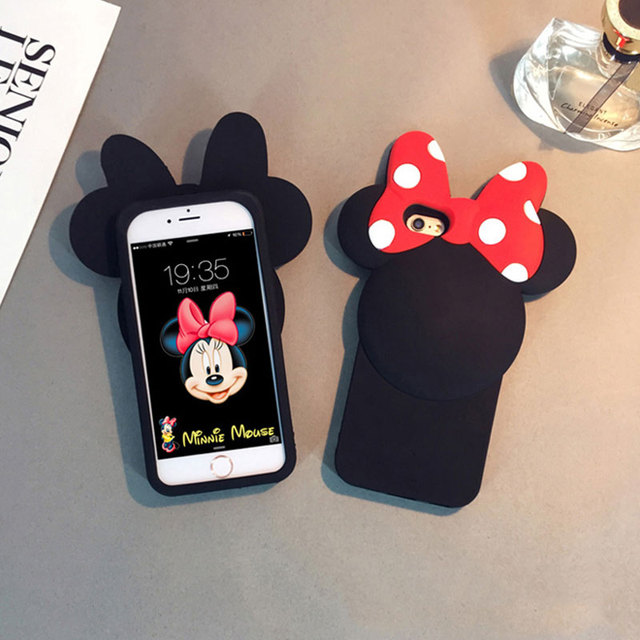 iphone 8 plus coque silicone 3d