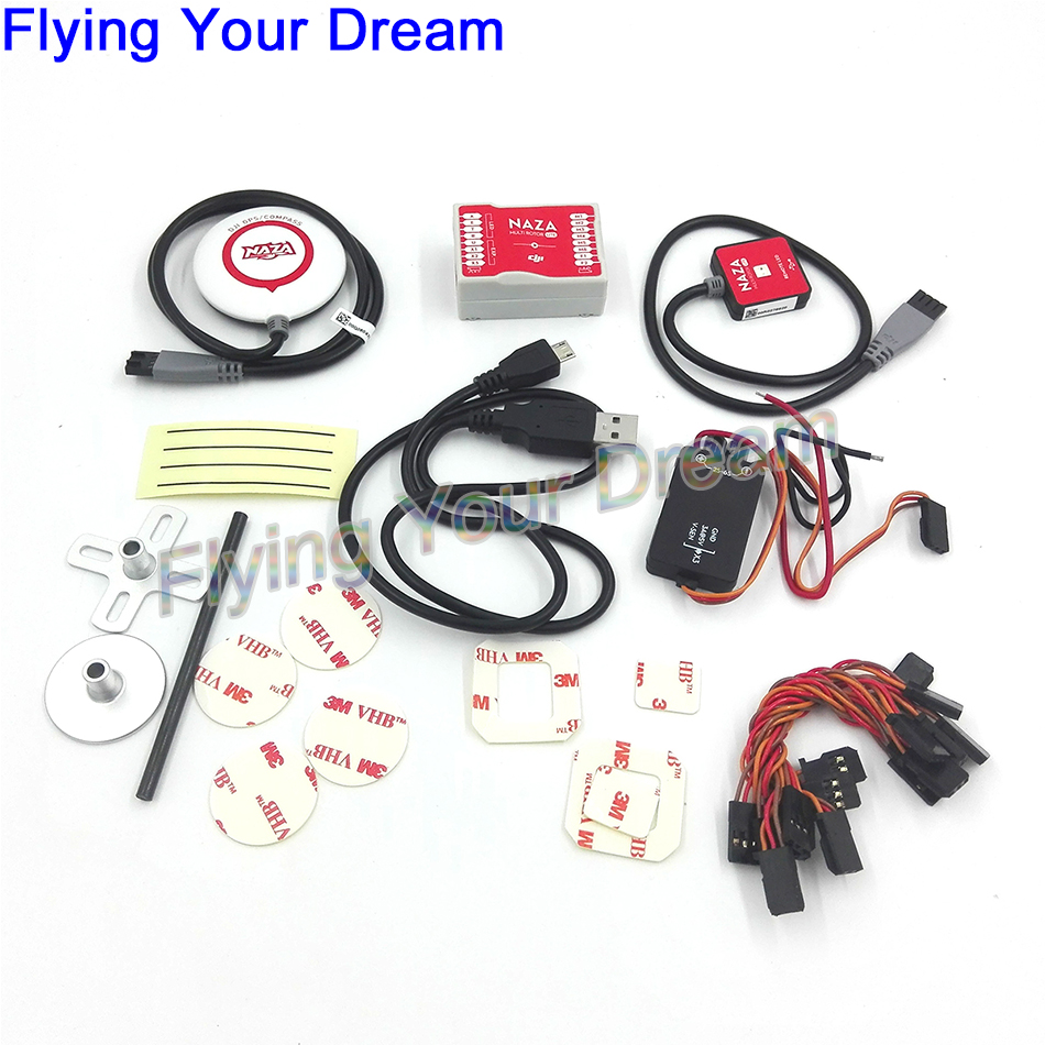 Original NAZA M naza Lite Flight Controller w LED PMU GPS Combo for FPV RC Multirotor aliexpress com buy original naza m naza lite flight controller w naza wiring diagram at gsmx.co
