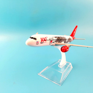 Image 5 - JASON TUTU 16cm Plane Model Airplane Model Air Asia Airbus 320 Aircraft Model 1:400 Diecast Metal Airplanes Plane Toy Gift