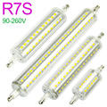 New R7S LED Lamp 5W 10W 12W 15W SMD 2835 78mm 118mm 135mm 189mm LED R7S Light Bulb AC90-260V Replace Halogen Light spot light