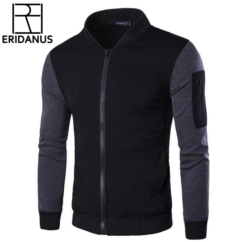 2017 Nouveau Design Hommes Sweat-Shirts Décontractés Slim Fit Blouson  taille M-3XL Automne Marque De Mode Vent Mens Hoodies Manteaux XXXL X497 6de09c9d5e8