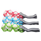 1PC Manual Massager Roller Beads For Full Body Massage Rope Belt Pull Back Waist Leg Relaxation For anti Stress Relief exerecise