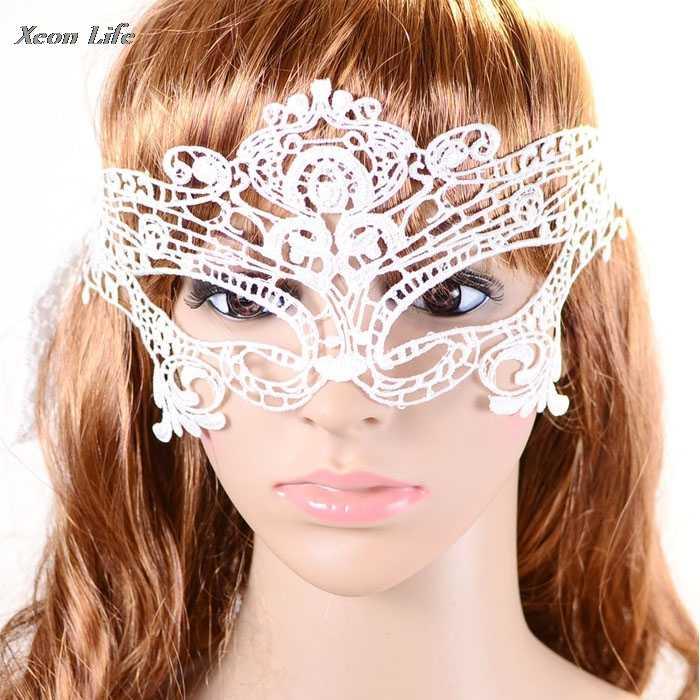 ISHOWTIENDA Новинка 2017 года сексуальный элегантный Глаз Маска Бал-маскарад карнавал необычные вечерние маске Macka тушь Airsoft