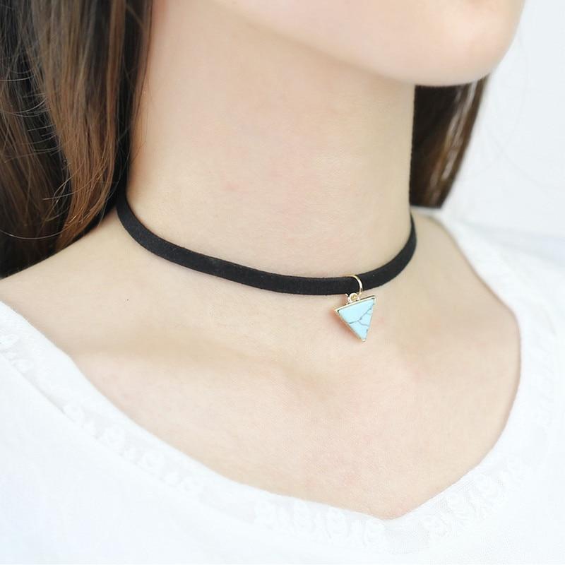 wholesale new fashion necklace black