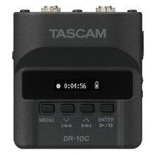 Tascam DR-10C Беспроводная аудио система резервного копирования подключаемый микрофон линейный PCM recorder DR-10CS& CH